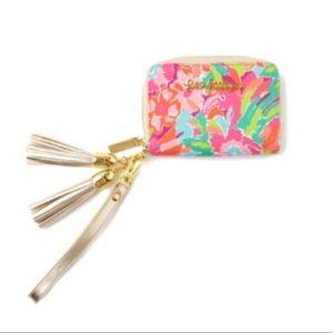 Lilly Pulitzer Lulu Wristlet Clutch Handbag Purse
